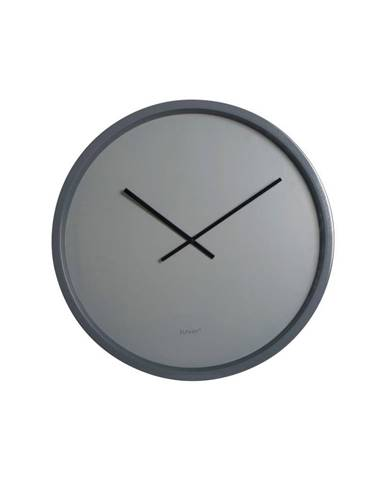 Sivé nástenné hodiny Zuiver Time Bandit