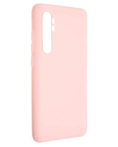 Kryt na mobil Fixed Story na Xiaomi Mi Note 10 Lite ružový