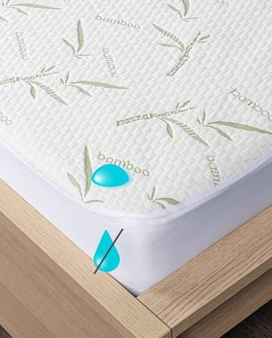 4home Bamboo Nepriepustný chránič matraca s lemom, 60 x 120 cm