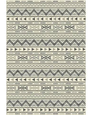 Hladko Tkaný koberec kelim 1, 80/250cm