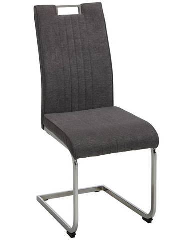 stolička katja sivá