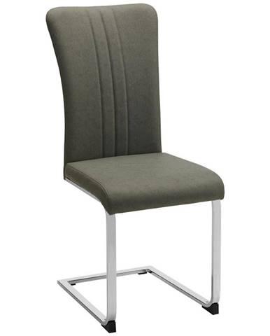 stolička sergio sivá
