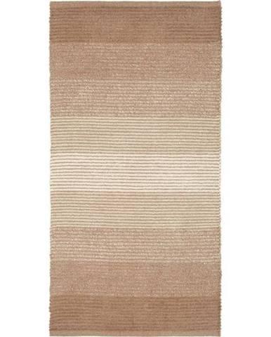 Plátaný koberec Malto, 70/140cm, Béžová