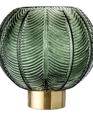 Zelená sklenená váza Bloomingville