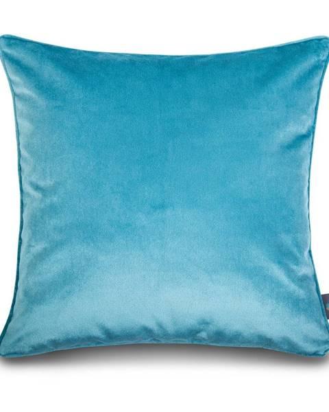 WeLoveBeds Modrá obliečka na vankúš WeLoveBeds Azure Coast, 50 × 50 cm
