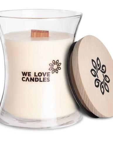 Sviečka zo sójového vosku We Love Candles Ivory Cotton, doba horenia 64 hodín