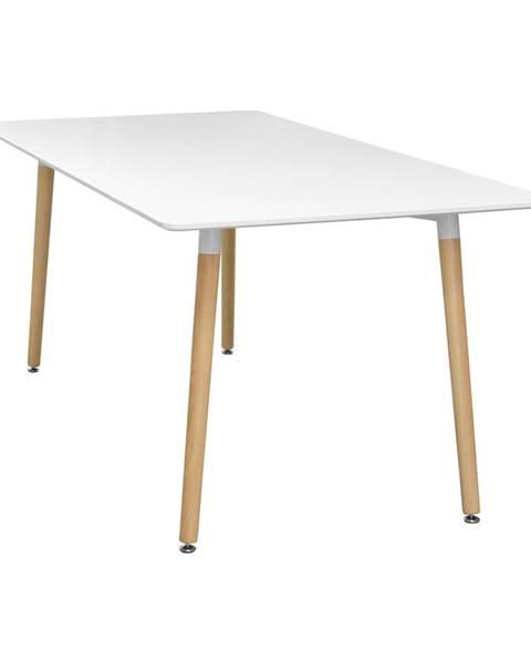 IDEA Nábytok Jedálenský stôl 160x90 UNO biely