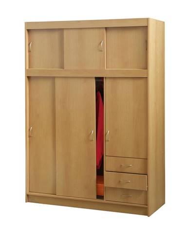 Skriňa s posuvnými dverami 3000