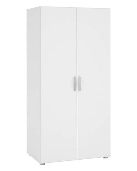 IDEA Nábytok Skriňa 2-dverová 480507 biela