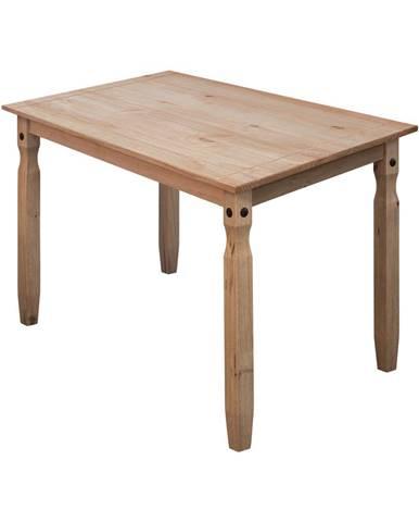 Jedálenský stôl 118x79 CORONA 2 vosk 16116