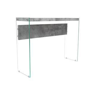 Odkladací stolík sklo/MDF