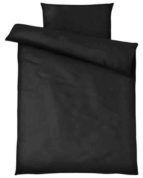 Möbelix Posteľná Bielizeň Blacky, 140/200cm, Čierna