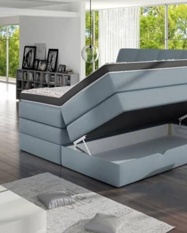 ArtMarz Manželská posteľ Korfu Soft-top