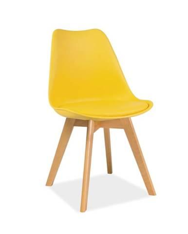 Signal Jedálenská stolička KRIS / buk