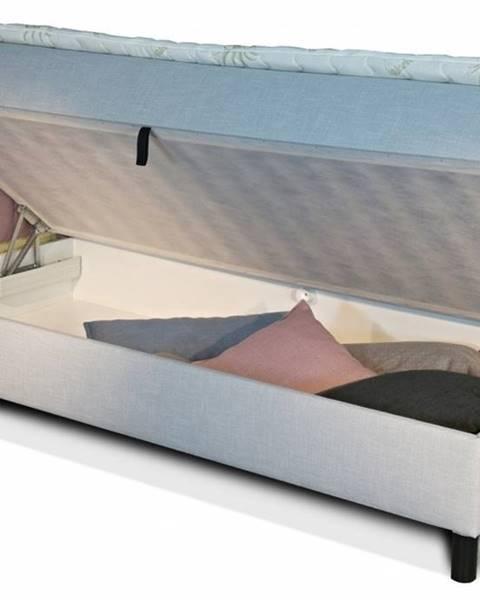 New Design New Design  Čalúnená posteľ NOVO s čelami