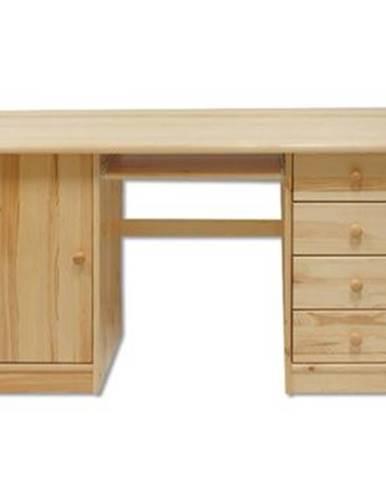 Písací stôl - masív BR115   borovica
