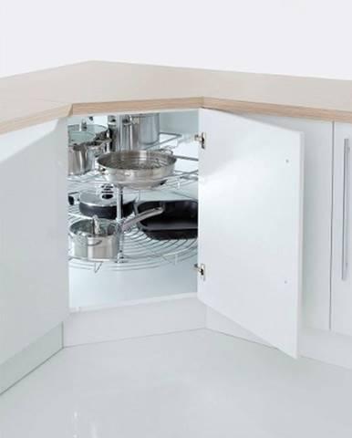 ArtExt Spodná kuchynská skrinka Napoli D12/90 s cargo košom POVRCHOVÁ ÚPRAVA DVIEROK