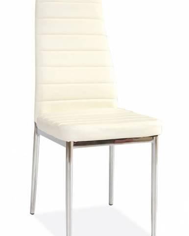 Jedálenská stolička H-261 krémova