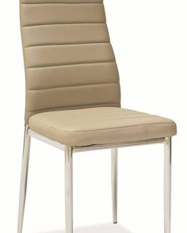 Jedálenská stolička H-261 tmavo béžová