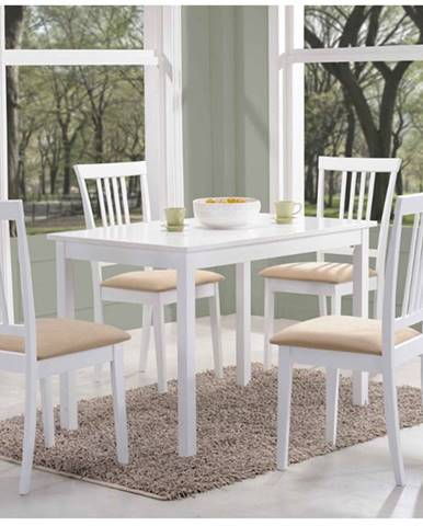 Signal Jedálenský stôl FIORD biela stoly