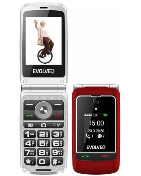 Evolveo Mobilný telefón Evolveo EasyPhone FG červený