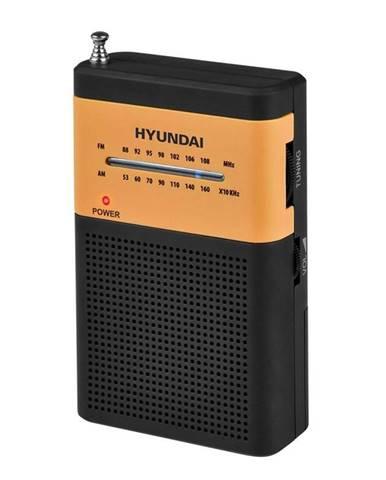 Rádioprijímač Hyundai PPR 310 BO čierny/oranžov