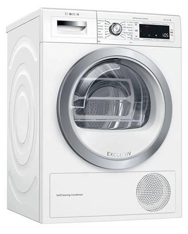 Sušička bielizne Bosch Serie | 8 Wtw85590by biela