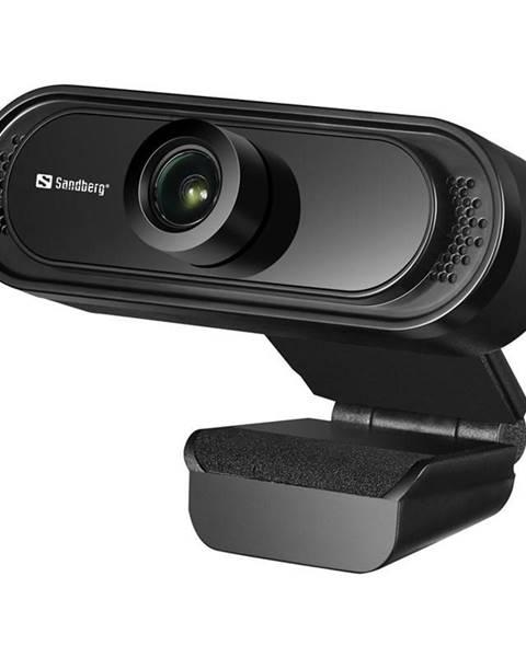 Sandberg Webkamera Sandberg Webcam Saver 1080p čierna