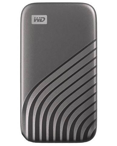 SSD externý Western Digital My Passport SSD 500GB sivý