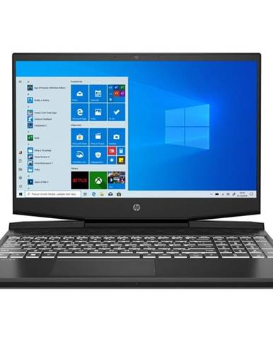 Notebook HP Pavilion Gaming 15-dk1008nc čierny/biely