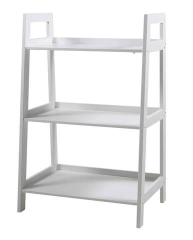 Biely trojposchodový regál Actona Wally
