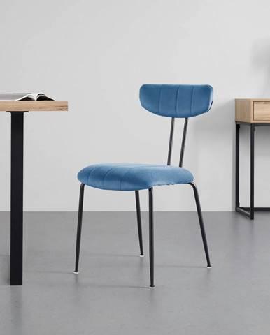 Jedálenská stolička Tylor Modrá