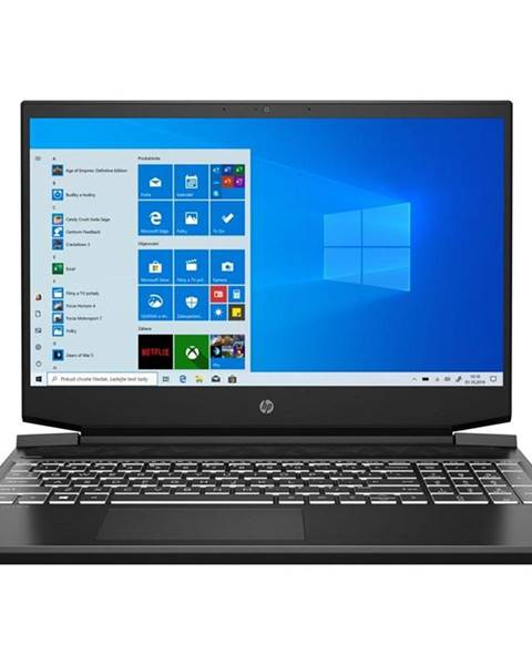 HP Notebook HP Pavilion Gaming 15-ec1604nc čierny