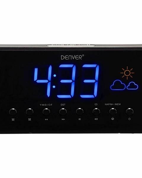 Denver Rádiobudík Denver CR-718 čierny/strieborn