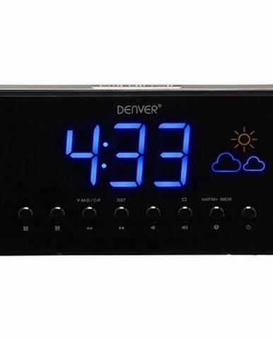 Rádiobudík Denver CR-718 čierny/strieborn