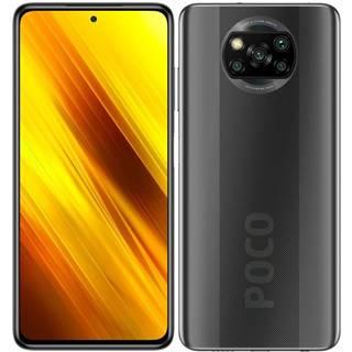 Mobilný telefón Poco X3 128 GB sivý