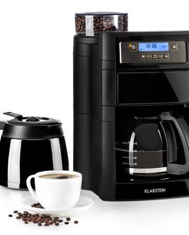 Kávovar Klarstein Aromatica II Duo čierny