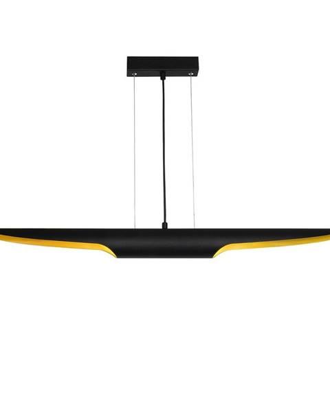 Opviq lights Čierne závesné svietidlo Opviq lights Efsun