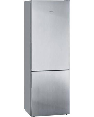Kombinácia chladničky s mrazničkou Siemens iQ500 Kg49eaica nerez