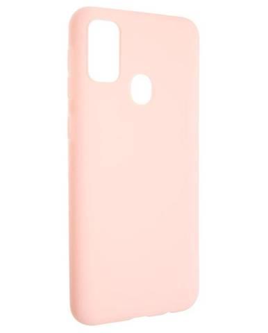 Kryt na mobil Fixed Story na Samsung Galaxy M21 ružový