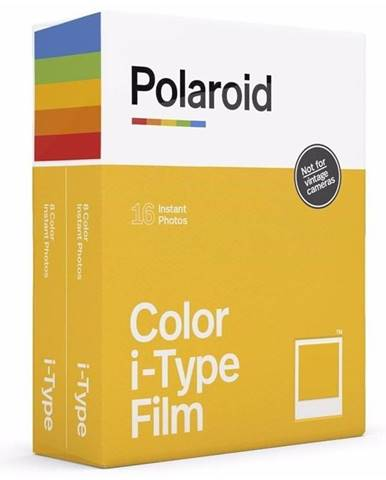 Instantný film Polaroid Color i-Type Film 2-pack, 2x 8ks