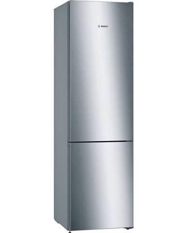 Kombinácia chladničky s mrazničkou Bosch Serie   4 Kgn392ida nerez