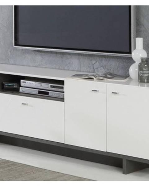 ASKO - NÁBYTOK TV skrinka Makaria 141%