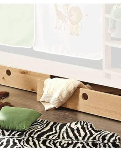 Sada úložných zásuviek pod posteľ