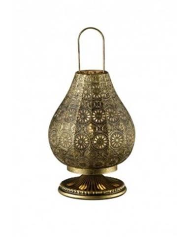 Stolná lampa Jasmin 503700104, mosadzná%