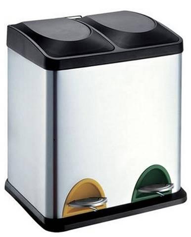 Toro Nerezový kôš na triedený odpad 15l + 15 l 270234