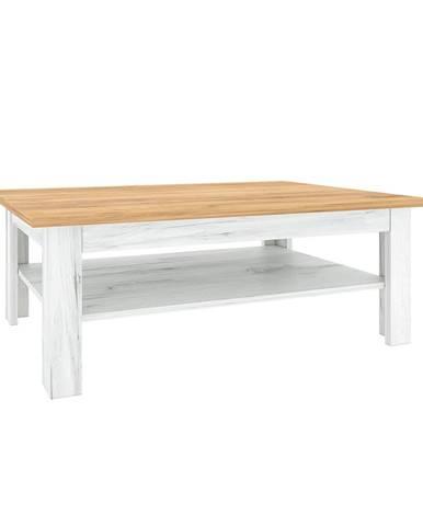 Konferenčný stolík T2 dub craft zlatý/dub craft biely SUDBURY