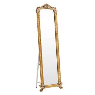 Stojanové zrkadlo zlatá ODINE