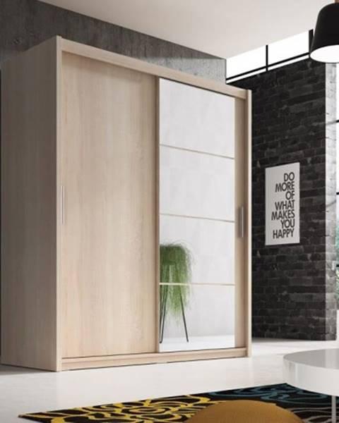 OKAY nábytok Šatníková skriňa Argos - 180x220x61 cm