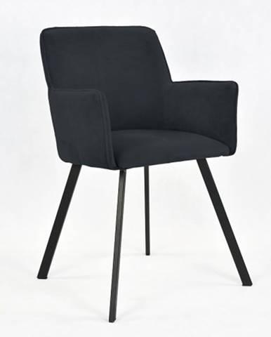 Jedálenská stolička Vian čierna
